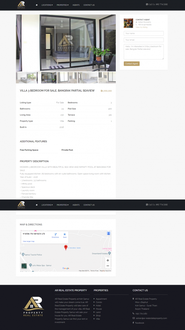 Website – AR Real Estate