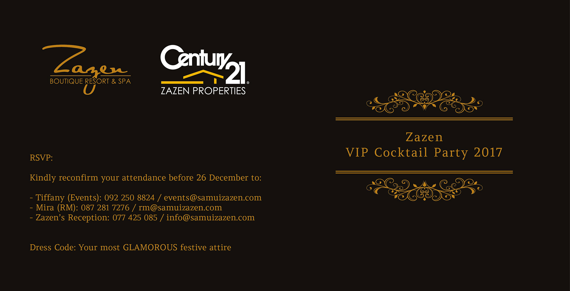 VIP party 2017 – Zazen Resort