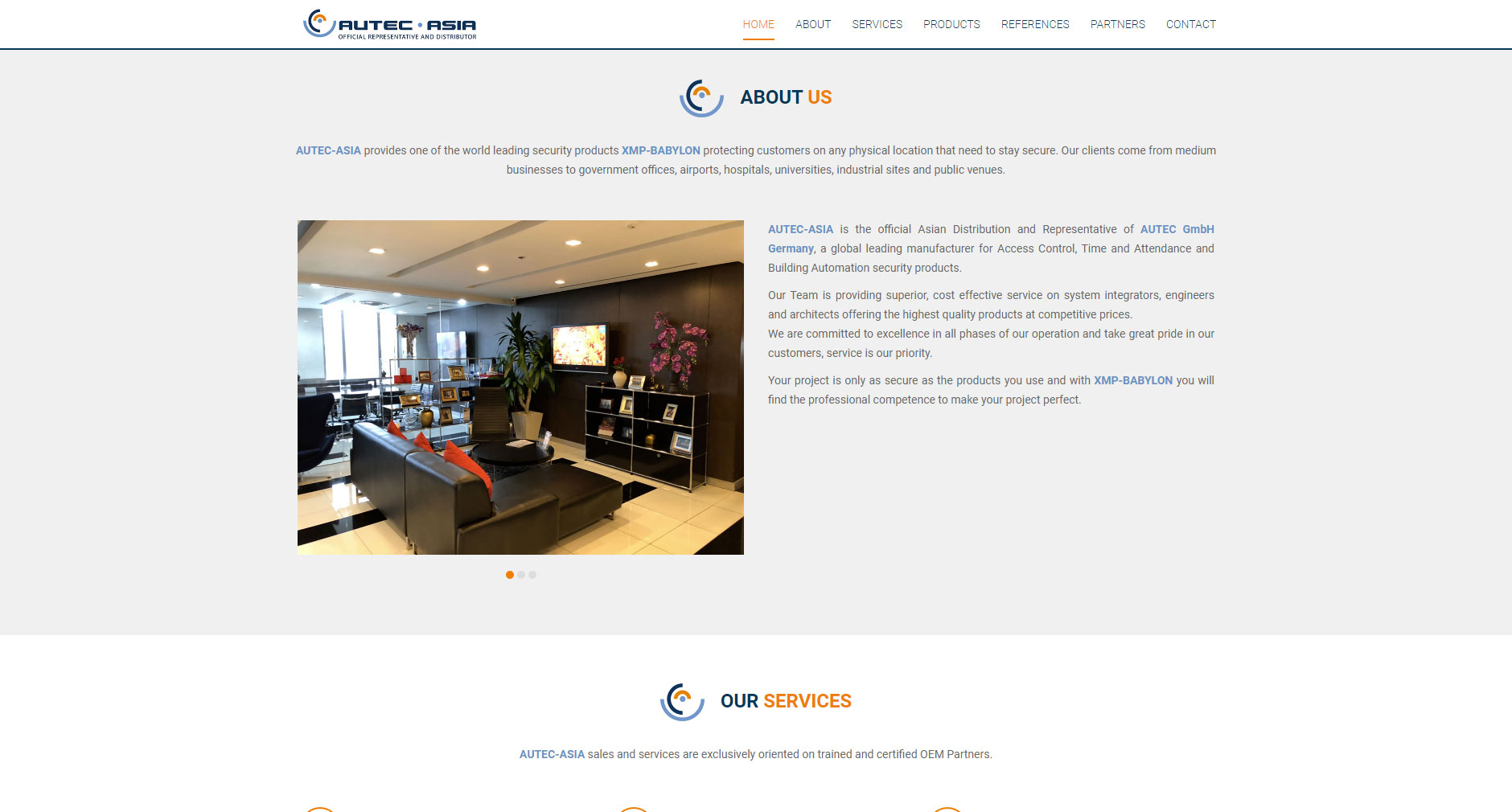 Website – AUTEC Asia
