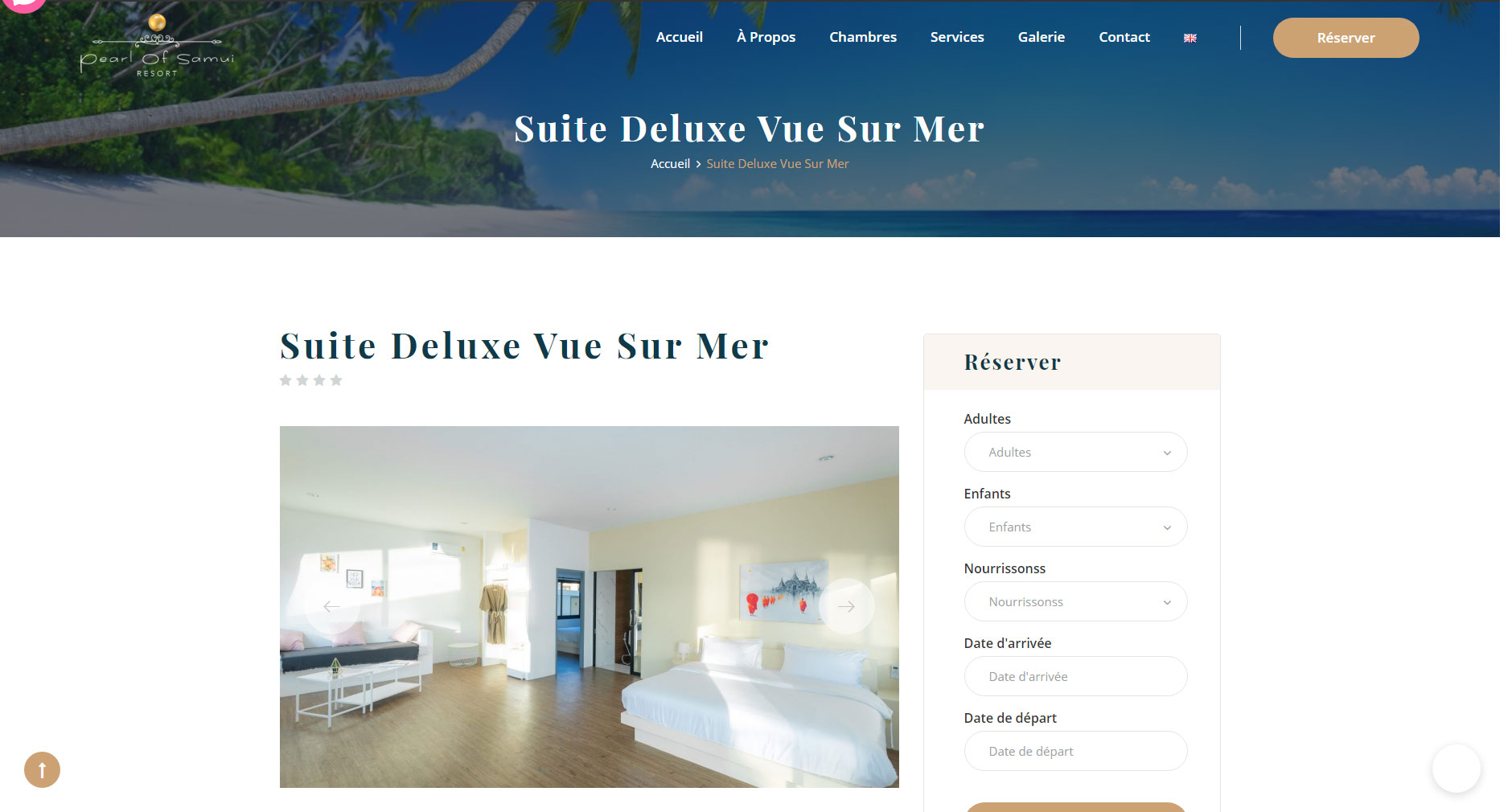 Website – Pearl of Samui