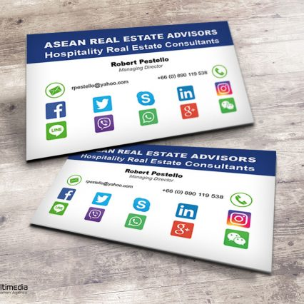 Business card - Asean Real Estate Advisors