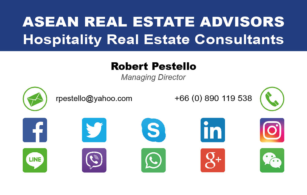 Business card – Asean Real Estate Advisors