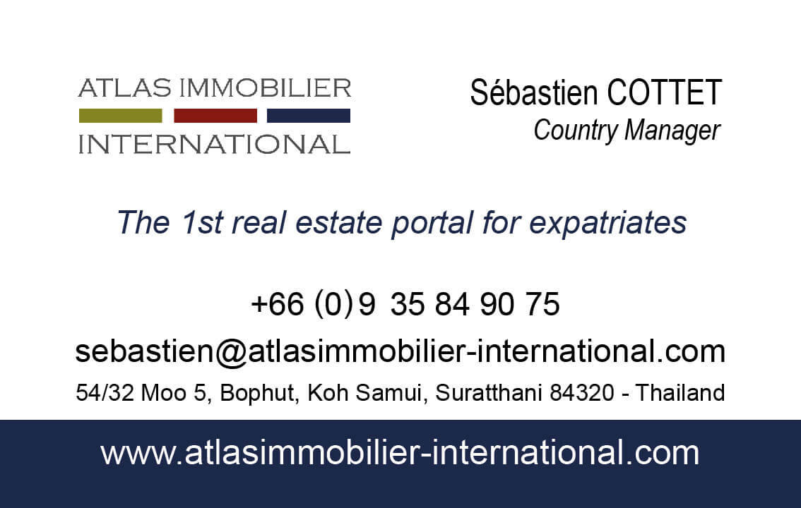 Business card – Atlas Immobilier