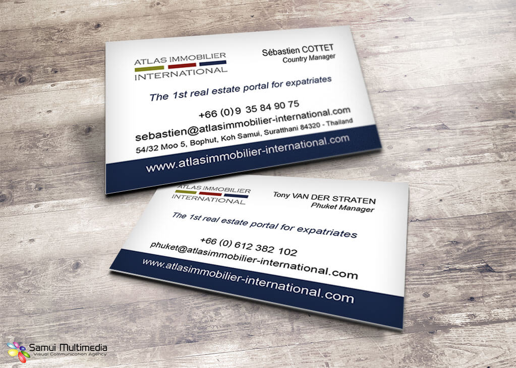 Business card - Atlas Immobilier