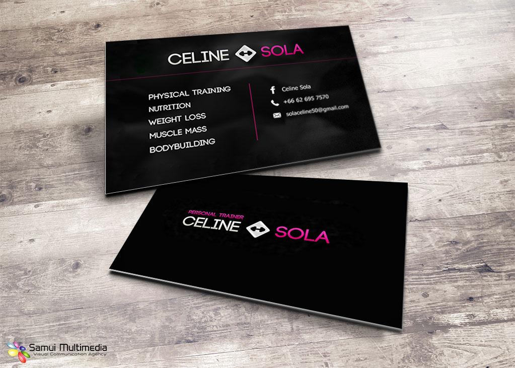 Cartes De Visite Celine Sola