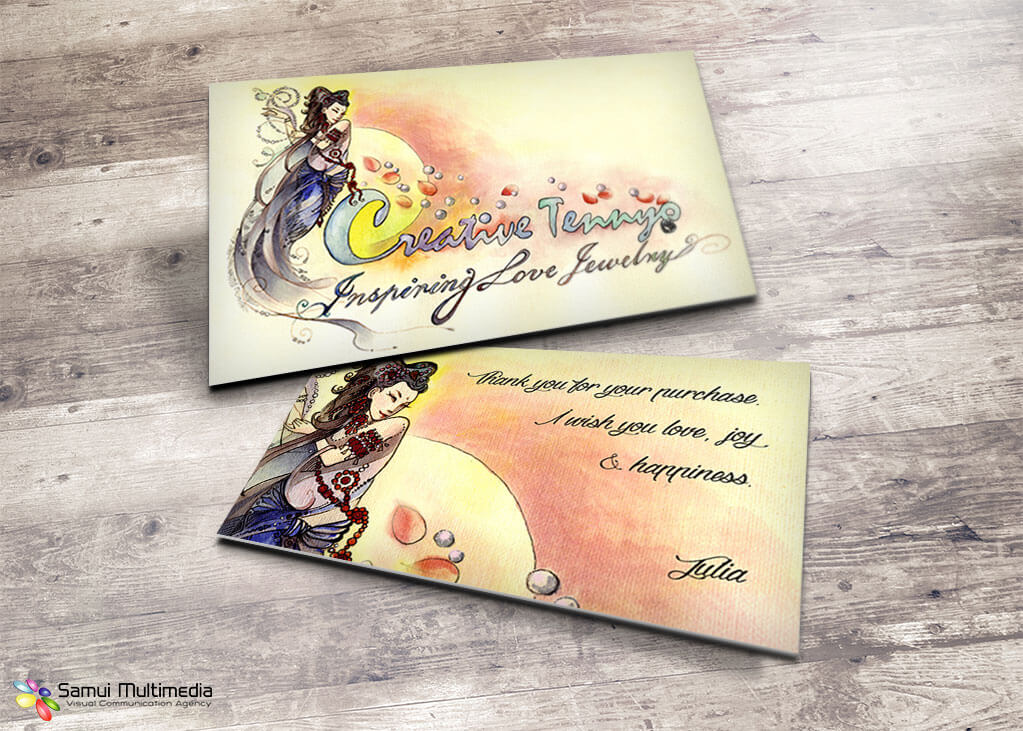 Business card - Creative Tennyo