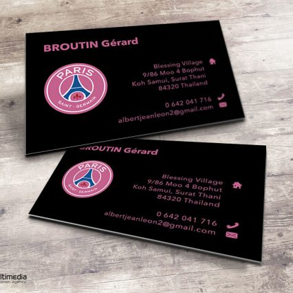 Business card - Gérard