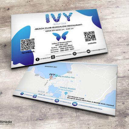Printing Business Card Portfolio At Koh Samui Samui Multimedia