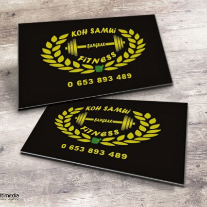 Business card - Koh Samui Fitness