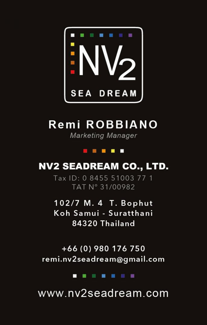 Business card – NV2 Sea Dream