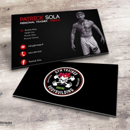 Business card - Patrick Sola