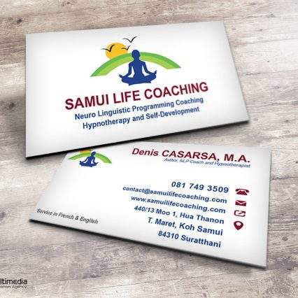 Business card - Samui Life