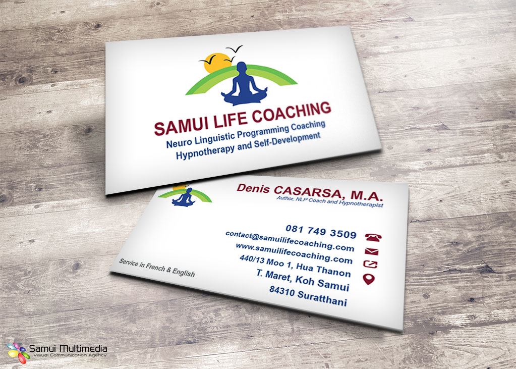Life Coach Business Card - Best Business 2017