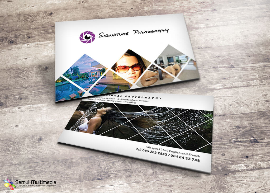 Business card - Signature Photography