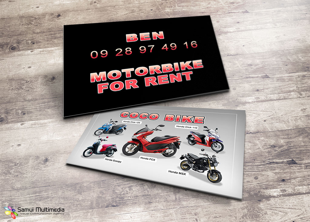Business card V.2 - Coco Bike
