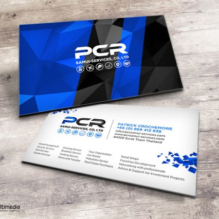 Business card V.2 - PCR
