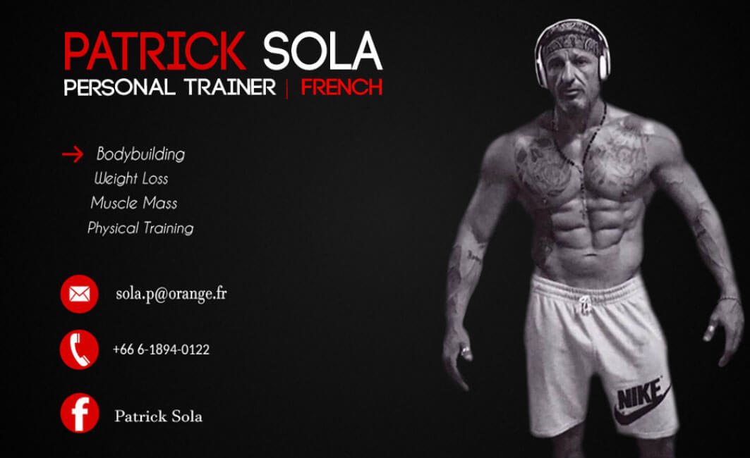 Business card – Patrick Sola