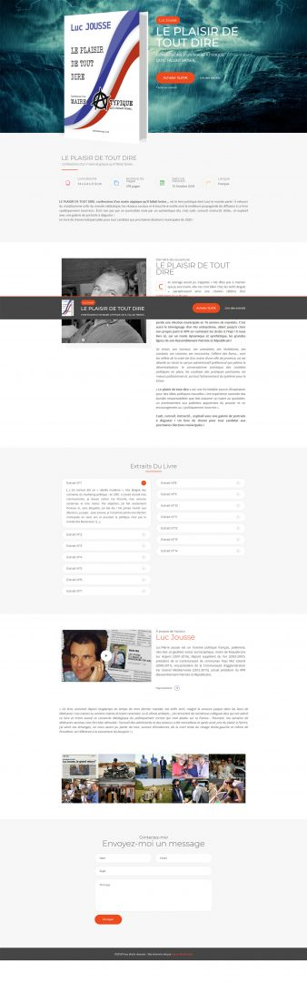 Website – Luc Jousse