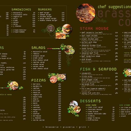Menu V.1 - Sairee Sairee