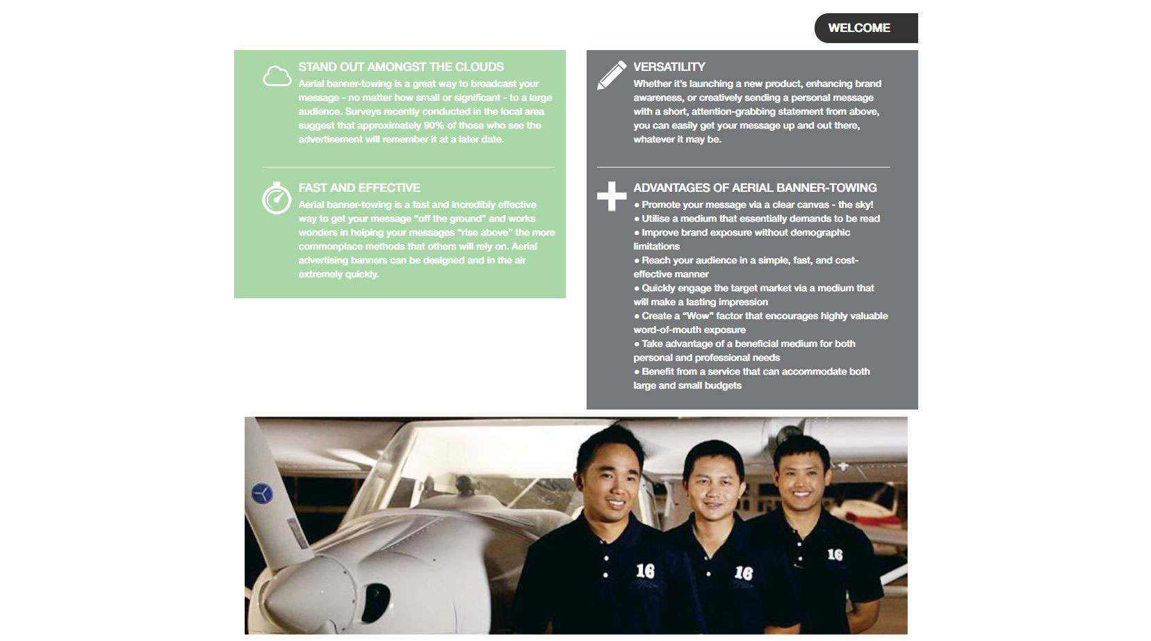 Modifications website – South Wings Thailand