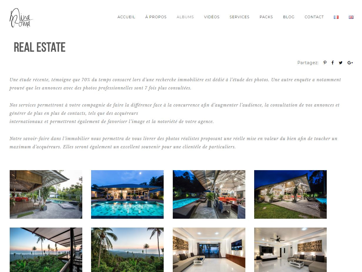Website – Nina Roma Photographer