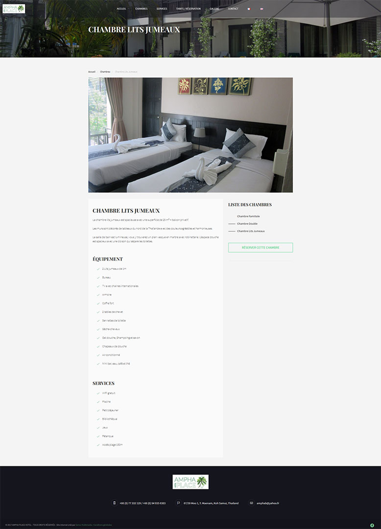 Website – Ampha Place Hotel