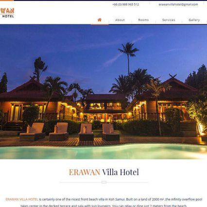 Website - Erawan Villa Hotel