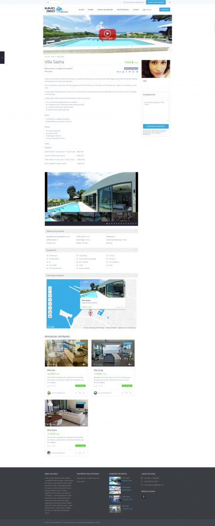 Website – Immo 360 Samui