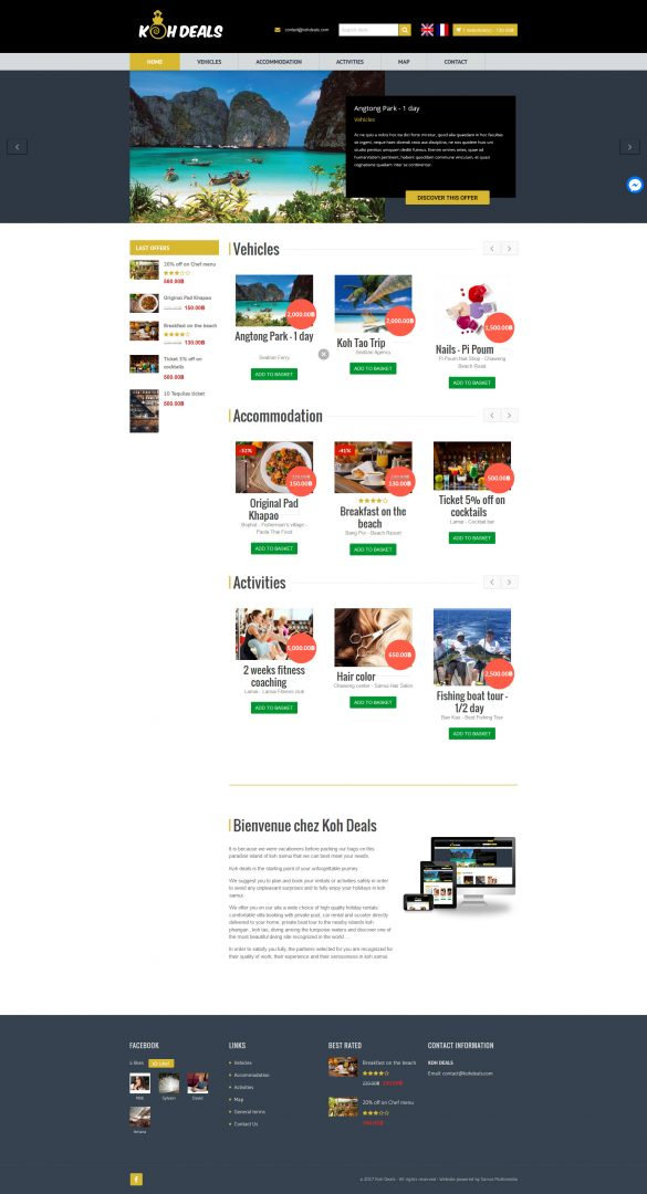 Website – Koh Deals