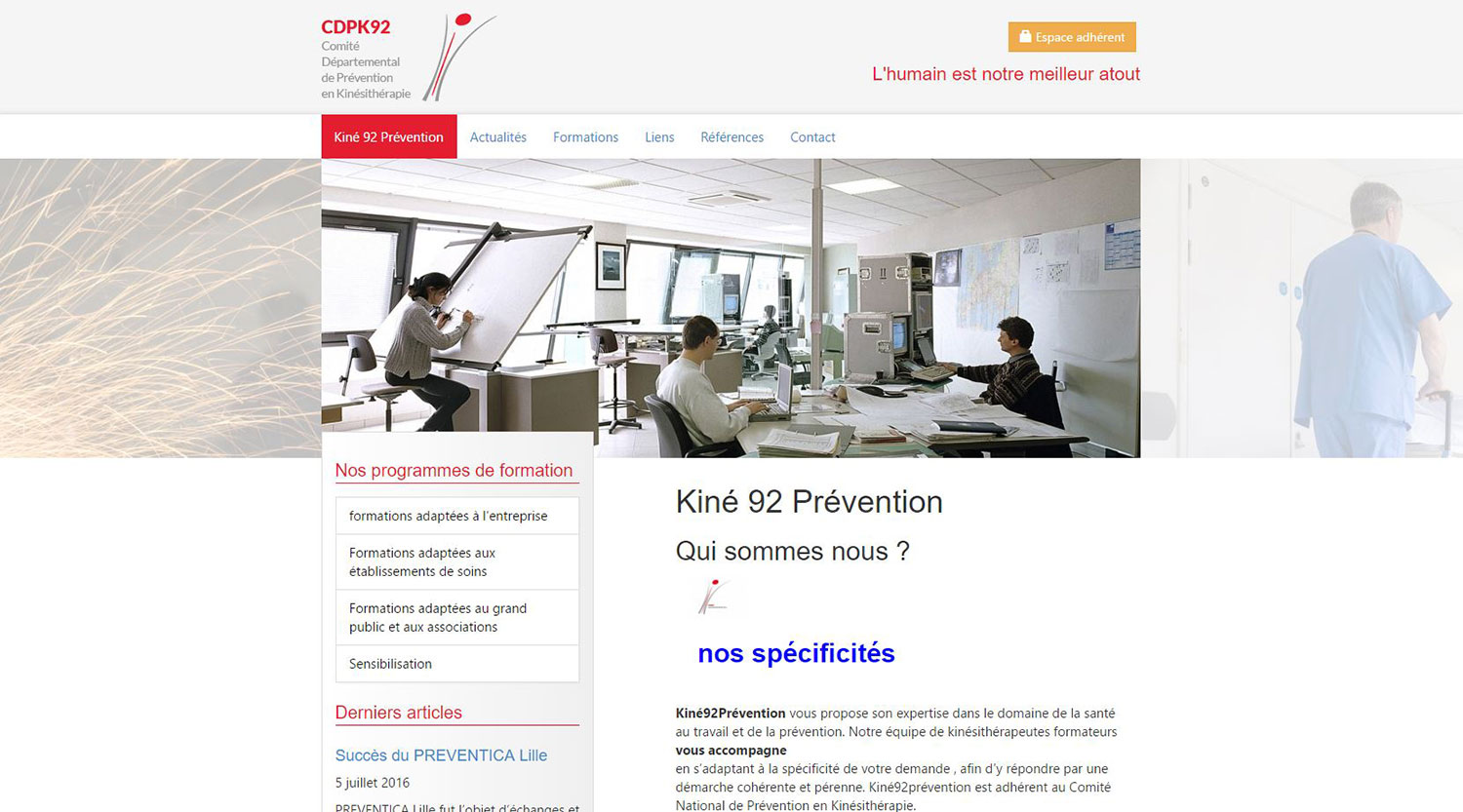 Website maintenance - CDPK92