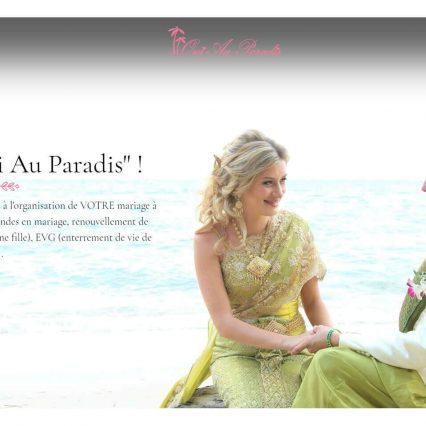 Website - Oui au paradis