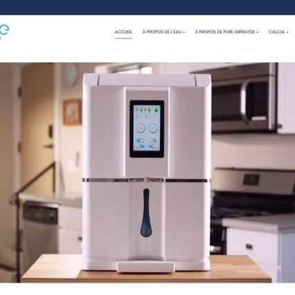 Website - Pure Air Water