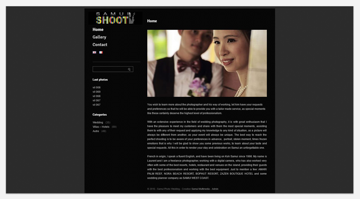 Website – Samui Shoot