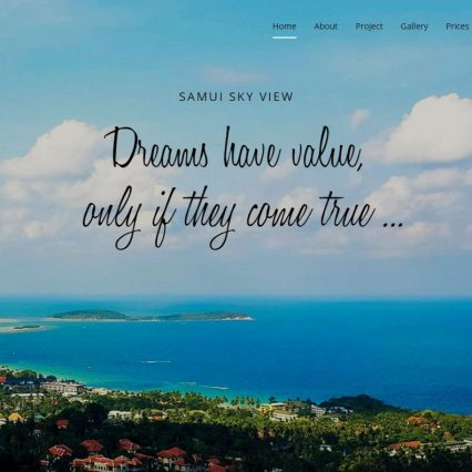 Website - Samui Sky View