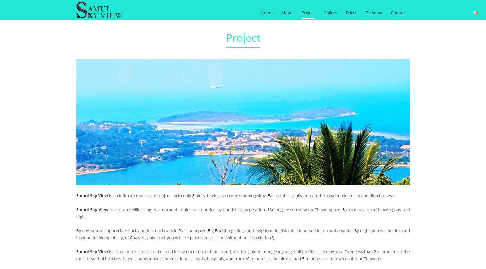 Website – Samui Sky View
