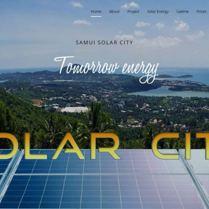 Website - Samui Solarcity