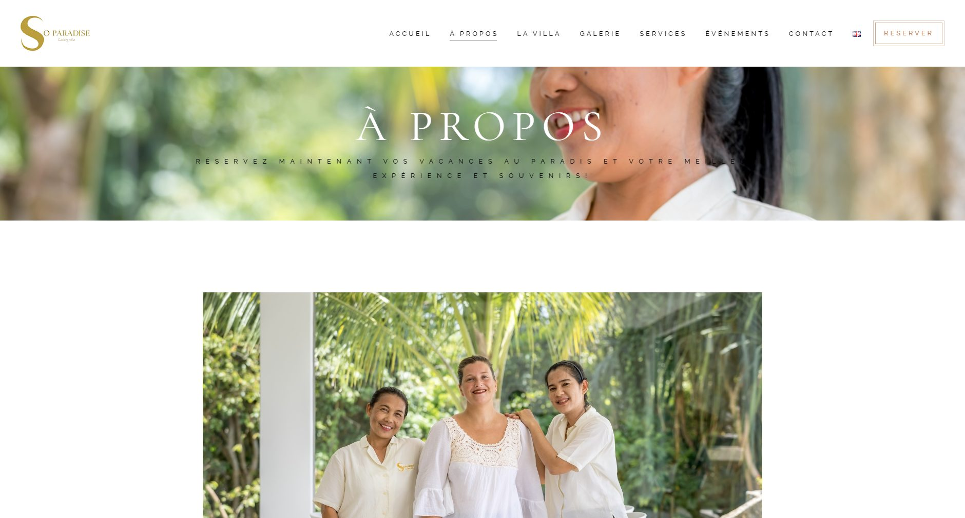 Website – So Paradise