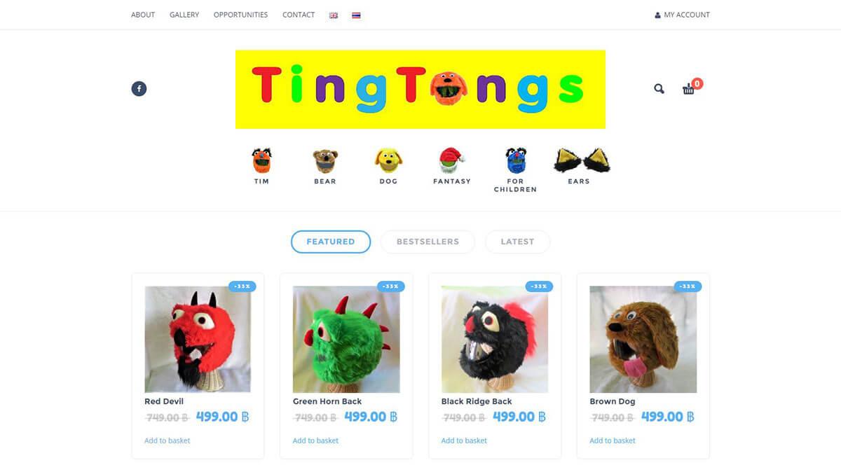 Website - TingTongs