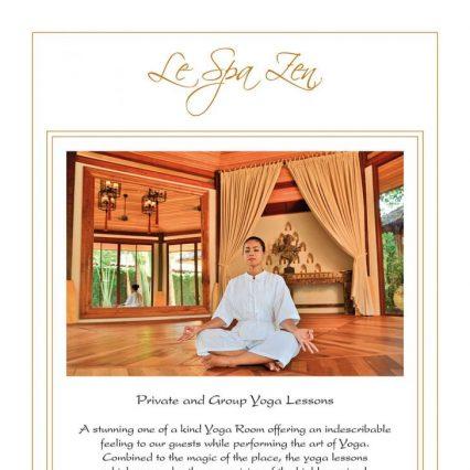 Yoga Poster - Zazen Resort
